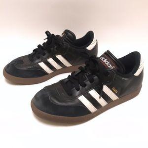 Adidas Black Samba Soccer Sneakers size 5.5